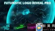 AE模板-科幻能量冲击波Logo动画 Futuristic Energy Logo Reveal PRO