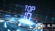 AE模板-三维科技感舞台十佳倒计时转场动画 Top 10 Countdown Transitions