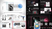 AE模板-简洁时尚视频包装展示开场 Clean Fashion Slideshow