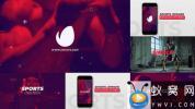 AE模板-体育视频包装宣传开场 Sports Opener Instagram Stories