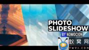 AE模板-像素拉伸切割图片开场 Photo Slideshow with Pixel Sorting