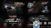 AE模板-黑色高贵奢华汽车宣传介绍片头 New Black Car Promo