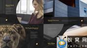 AE模板-公司企业大气优雅包装片头 Elegant Slides