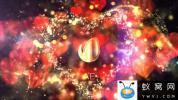 AE模板-虚焦爱心背景文字片头 Glitter Love Titles