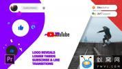 PR模板预设-时尚网络视频宣传包装 Modern Youtube Channel For Premier