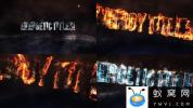PR预设-火焰能量粒子文字动画 Energy Titles