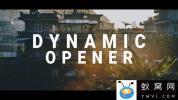 AE模板+PR预设-文字图片快闪片头 Dynamic Motion Opener