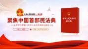p33聚焦中国首部民法典解读党课法律PPT模板