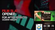 AE模板-电影场记板开场动画 Film Slate Openers