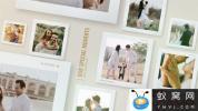 AE模板-清新回忆拍立得照片相册片头 Best Moments Photo Gallery Slid