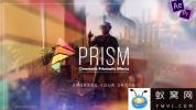 AE模板-棱镜折射梦幻光效视频包装片头 Prism – Cinematic Prismati