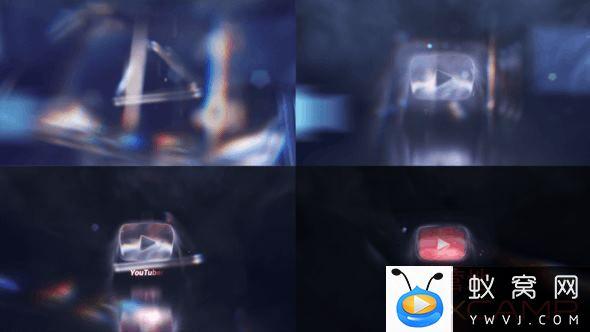 Cinematic Studio Crystal Logo Intro Reveal 25846970